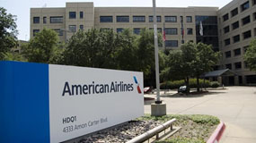 American Airlines headquarters in Forth Worth