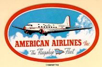 one of the first American Airlines ads