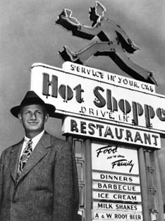 Hot Shoppes chain of restaurants